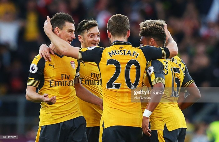 Burnley 0-1 Arsenal: Last gasp Koscielny goal hands Gunners three points