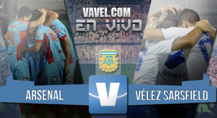 Resultado: Arsenal 1-0 Vélez Sarsfield por el Torneo de Transición 2016