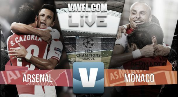 Live Ligue des Champions: Arsenal - Monaco en direct commenté (1-3)