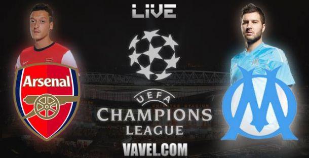 Live Arsenal - Marseille, le match en direct