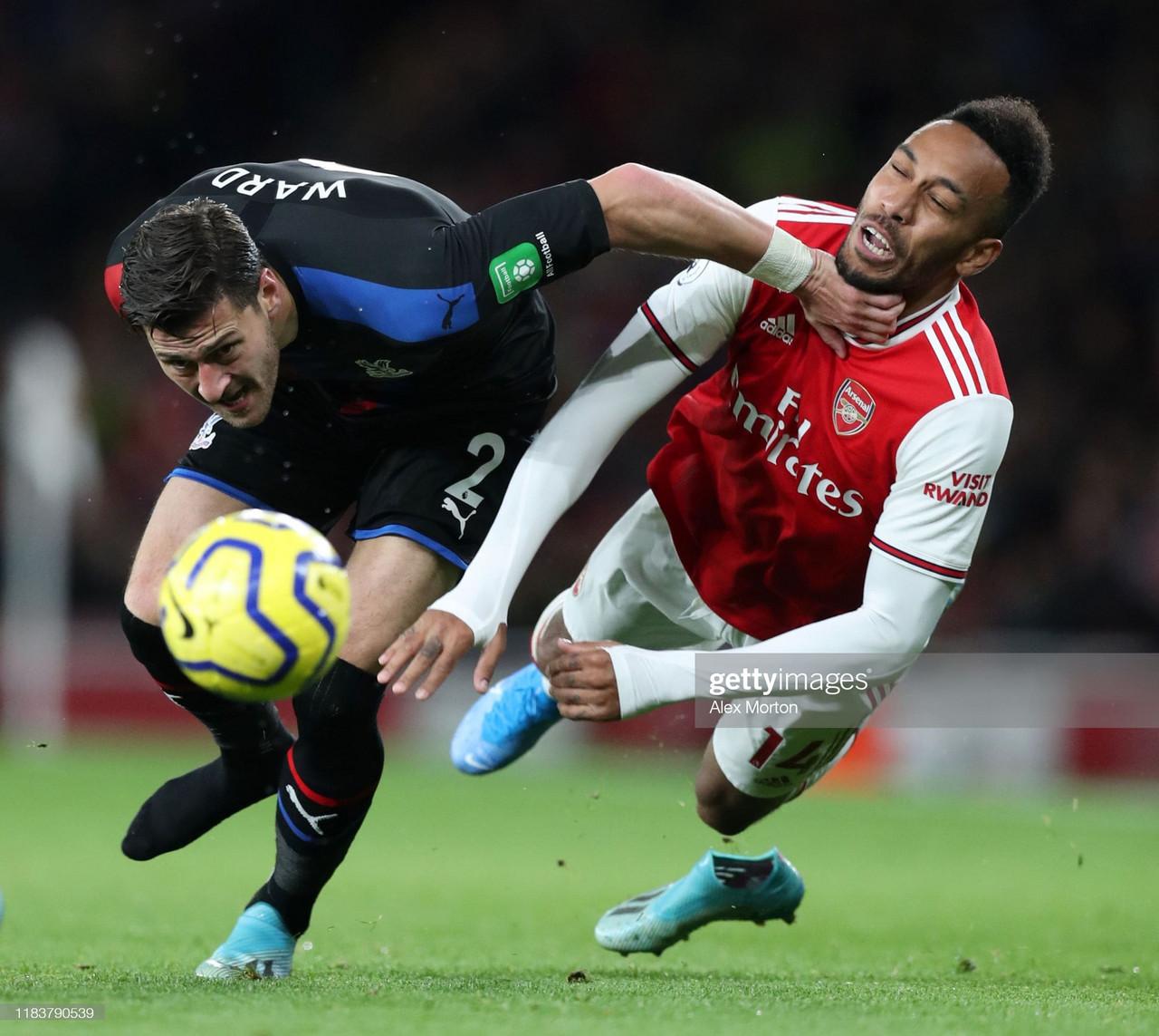 Arsenal vs Crystal Palace: Predicted line-up