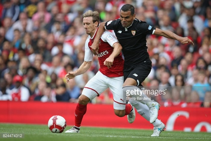 Arsenal 1-2 Sevilla: Gunners crowned Emirates Cup champions despite defeat
