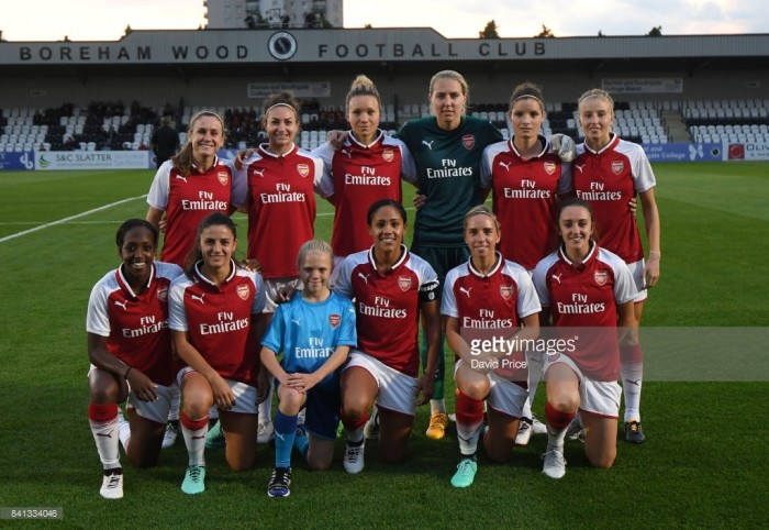 2017/18 WSL 1 Preview: Arsenal
