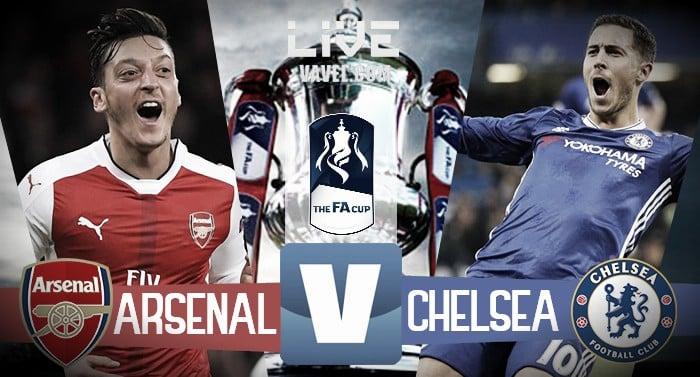 Risultati immagini per Arsenal Chelsea 2-1 2017