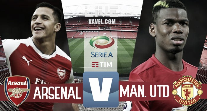 Risultato Arsenal 2-0 Manchester United in Premier League 2016/17: Xhaka-Welbeck in tre minuti