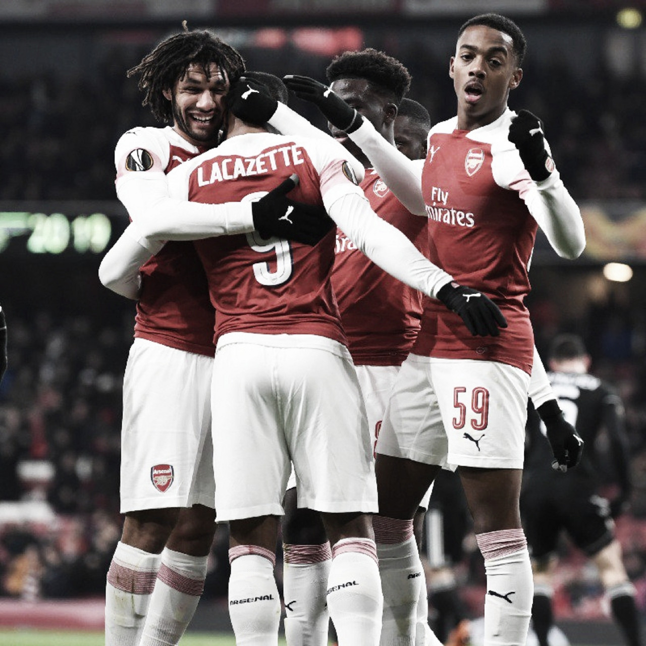 Lacazette marca e Arsenal derrota Qarabag pela última rodada da Europa League
