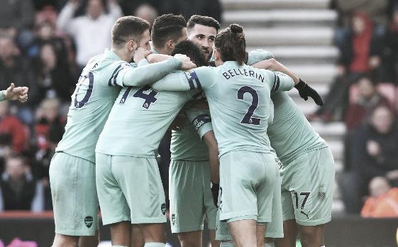 Fora de casa, Arsenal vence Bournemouth e encosta no G-4 da Premier League