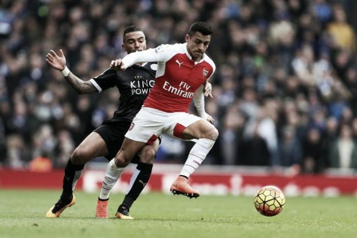 Derrotados na primeira rodada, Leicester e Arsenal se enfrentam pelo Campeonato Inglês