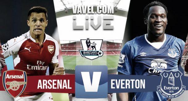 Arsenal 2-1 Everton: As it happened