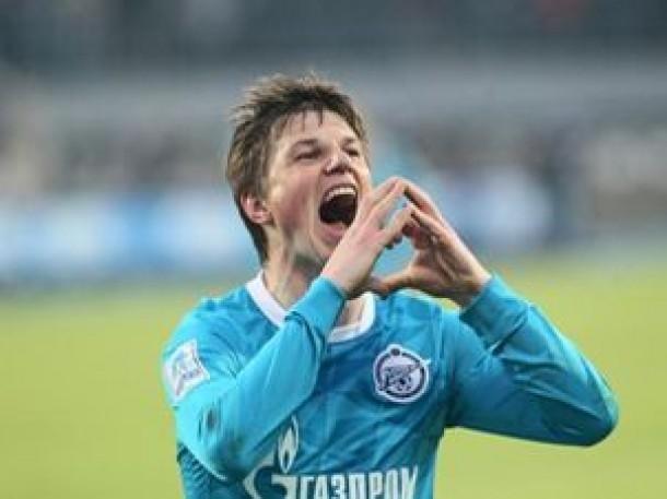 Arshavin marca, mas Zenit apenas empata com o Kuban