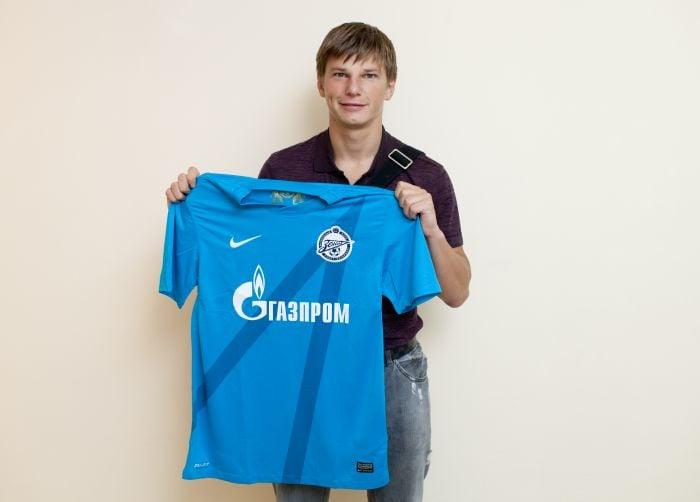 Arshavin regresa a San Petersburgo
