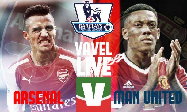 Arsenal - Manchester United (3-0), risultato partita Premier League 2015