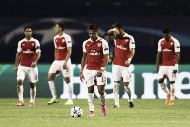 Arsenal, clamorosa sconfitta in Croazia: la Dinamo Zagabria vince 2-1
