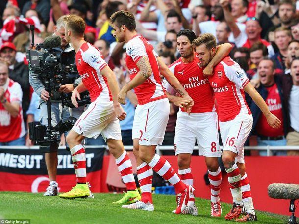 Arsenal 2-1 Crystal Palace: Player Ratings