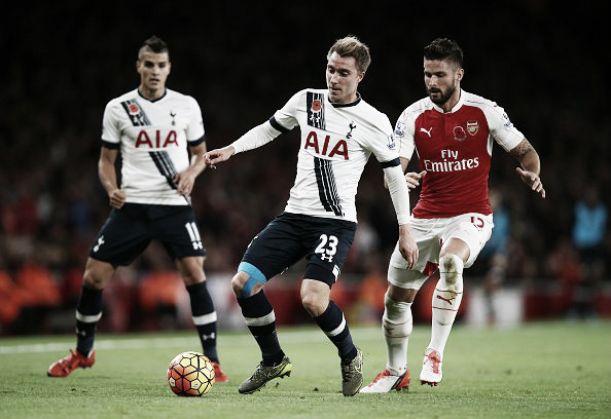 Arsenal fica no empate no dérbi com Tottenham e perde chance de assumir a ponta