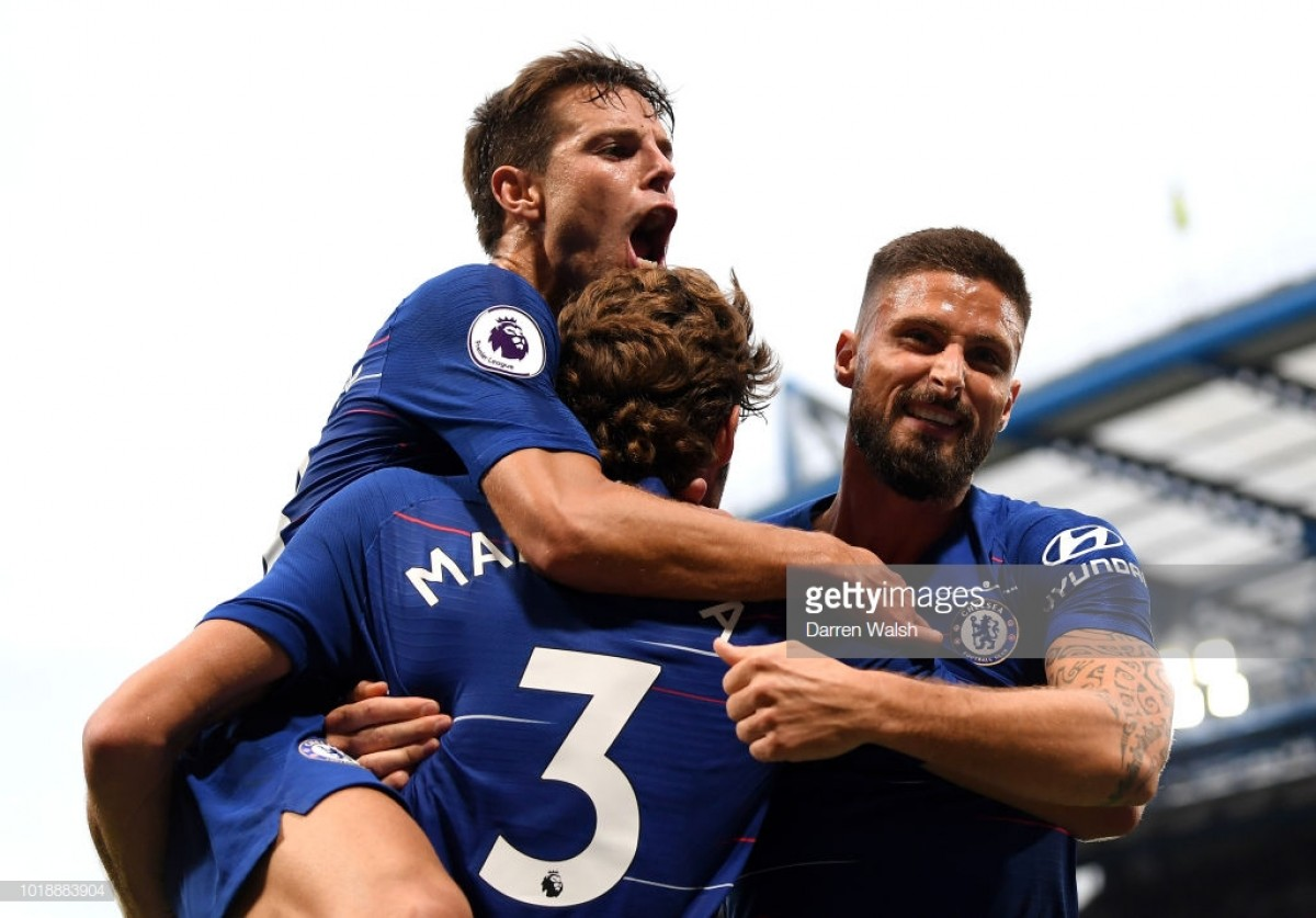 Chelsea 3-2 Arsenal: Alonso lands final blow in Stamford Bridge thriller