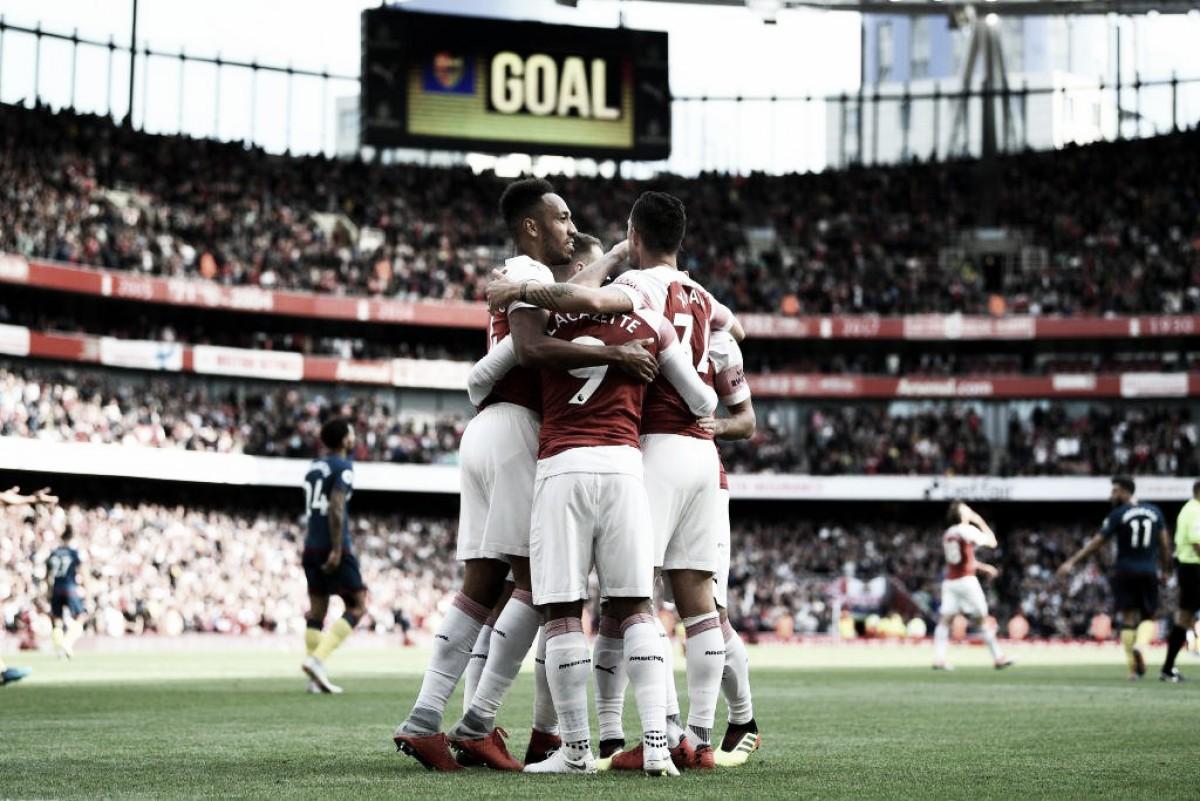 Premier League - Emery fa suoi i primi tre punti: all'Arsenal il derby col West Ham (3-1)