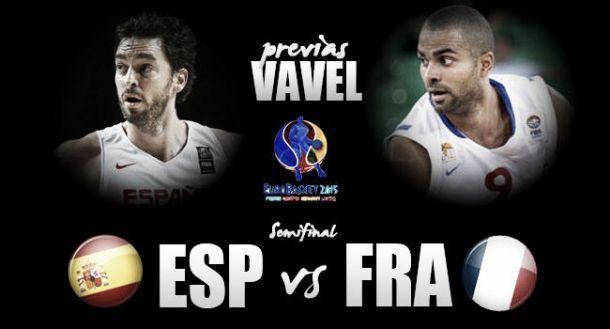 Live Spagna - Francia basket, EuroBasket 2015  (80-75)