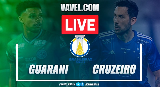 Guarani x Cruzeiro AO VIVO: jogo em tempo real na Série B