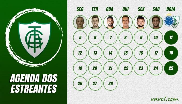Fala aí! Semana do América tem registros de possíveis estreantes em clássicos contra Cruzeiro