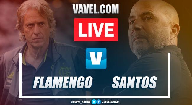 Gol e melhores momentos para Flamengo 1x0 Santos pelo Brasileirão