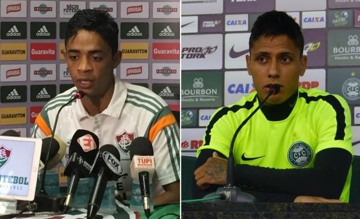 Fluminense acerta troca de Felipe Amorim por Dudu com Coritiba