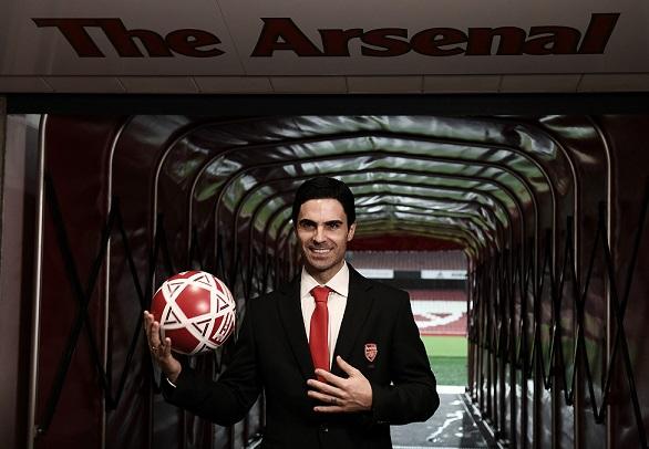 Mikel Arteta, sentimiento gunner en el banquillo del Emirates