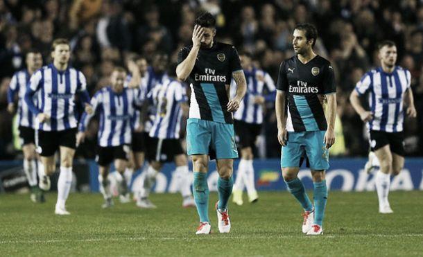 Sheffield Wednesday 3-0 Arsenal: Gunners suffer shock elimination