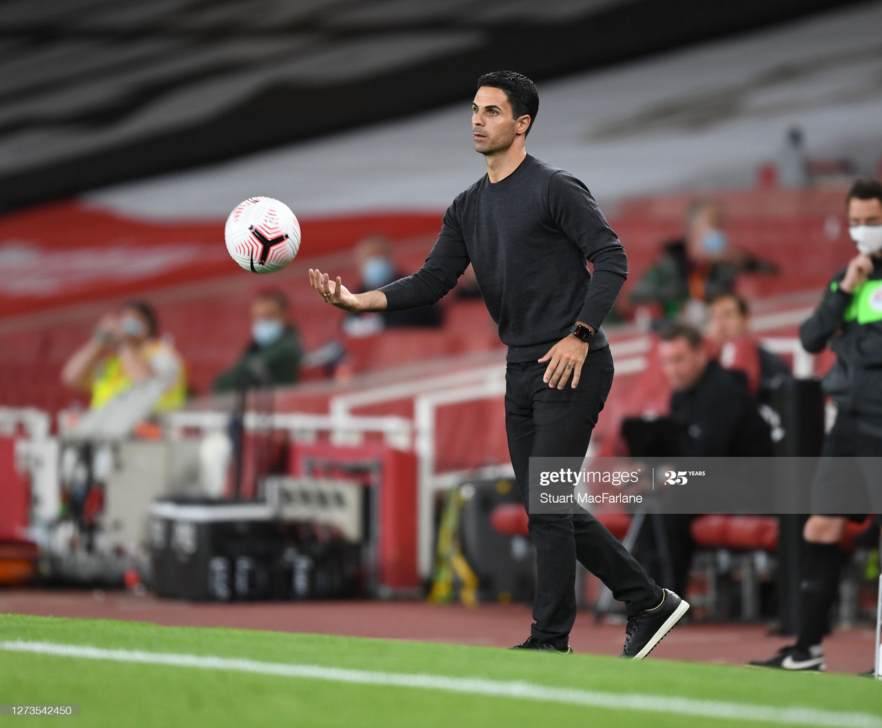 Arteta's new look Arsenal