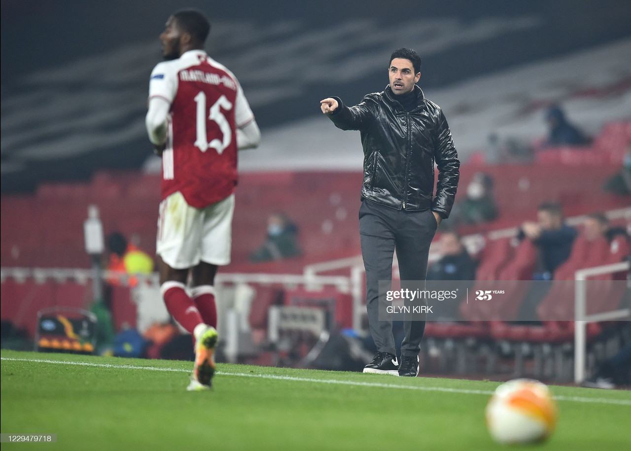 The key quotes from Mikel Arteta's post match press conference against Molde