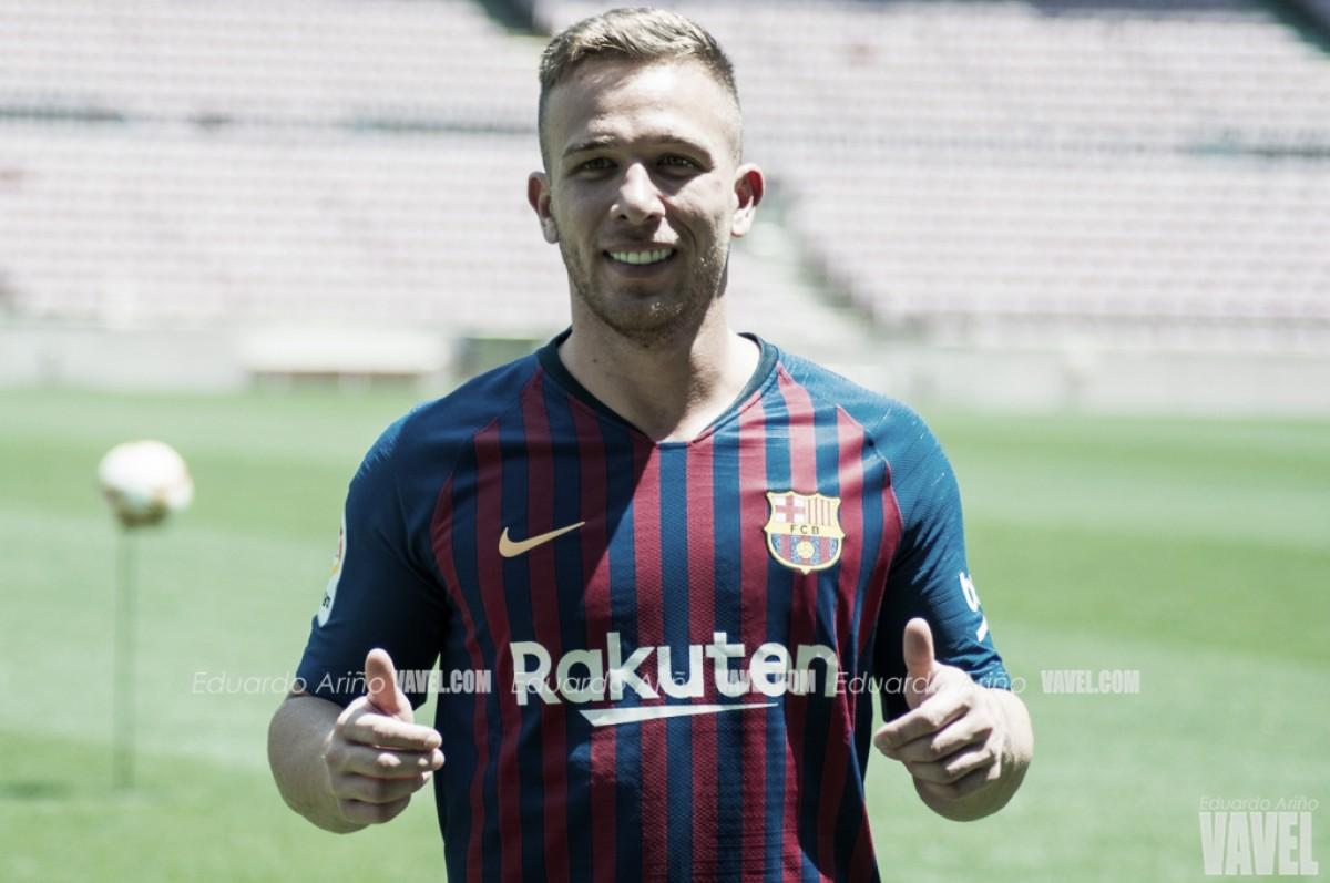 El Barça presenta a Arthur