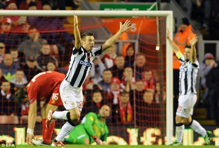 """Udinese - """"L'eroe di Liverpool"""""""