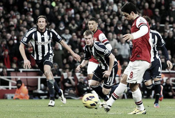 West Bromwich Albion - Arsenal: efervescencia futbolística