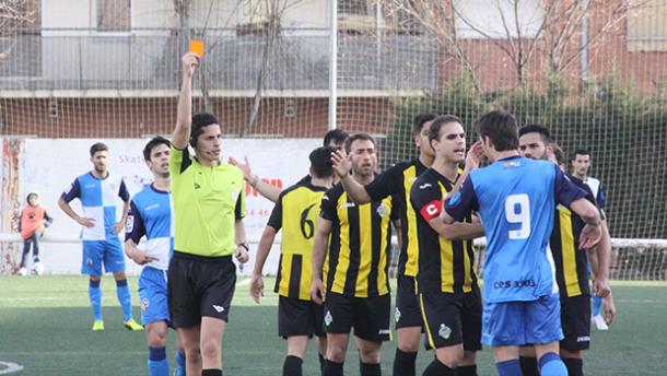El Sabadell B vence a la Montañesa en inferioridad numérica