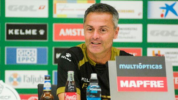 """Fran Escribá: """"Iremos a Mestalla a ganar"""""""