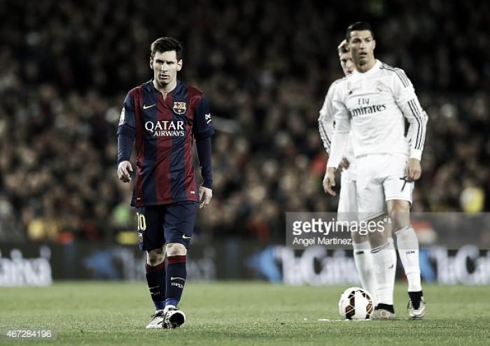 Barcelona x Real Madrid: MSN - BBC, 6 astros e 106 tiros certeiros