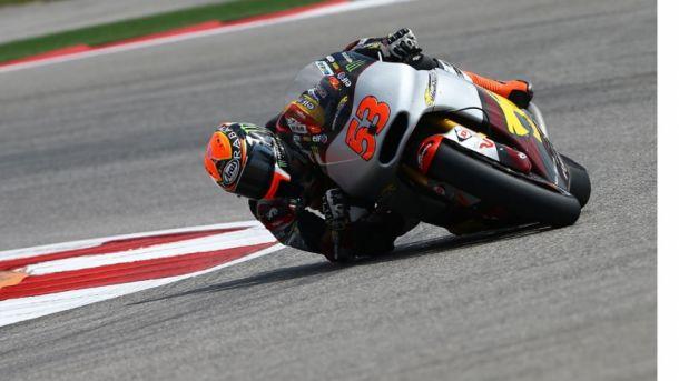 Moto2, ad Austin pole e record per Rabat