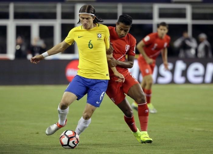 Filipe Luis dice adiós a la Copa América tras la polémica derrota de Brasil
