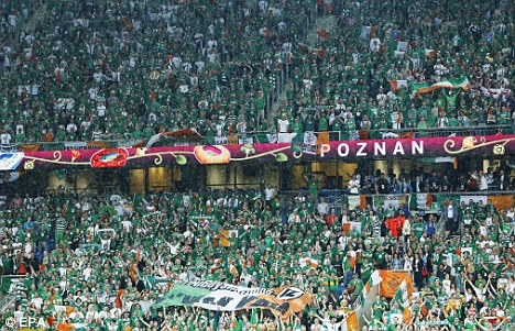 """¿Qué cantaban los irlandeses al final?: """"The Fields of Athenry"""""""