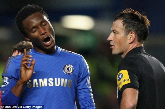 El Chelsea acusa a Clattenburg de llamar mono a Obi Mikel
