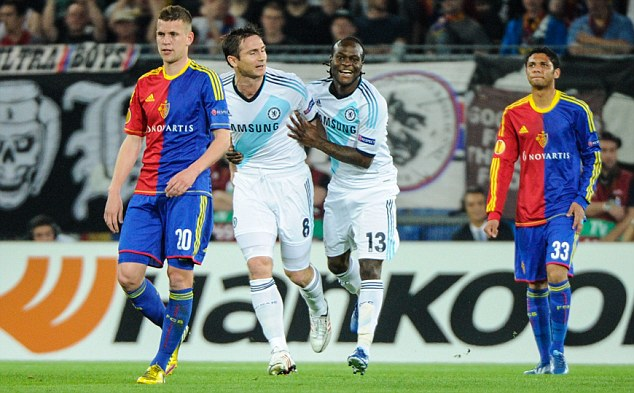 Com gol no último minuto, Chelsea vence Basel e abre vantagem para chegar a final