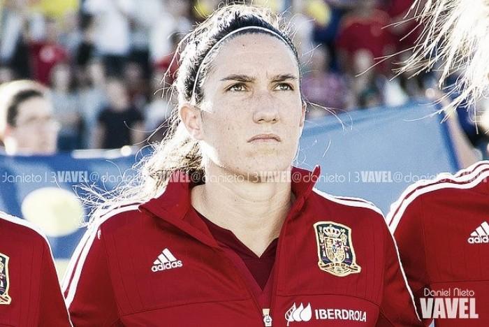 """Vicky Losada: """"Tenemos muchas ganas de que comience el partido"""""""