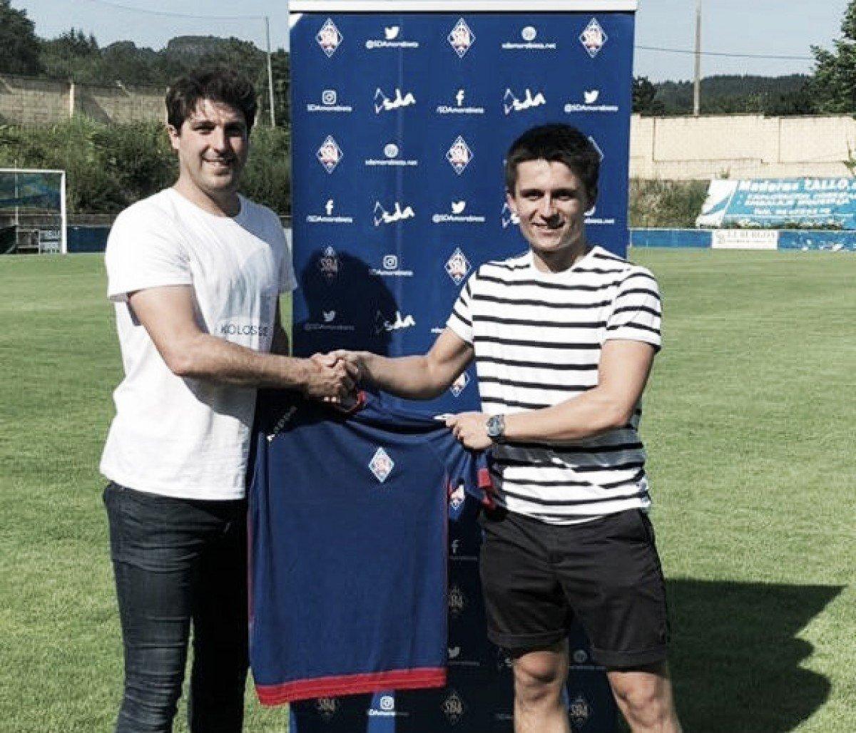 Joseba Orbegozo ya es nuevo jugador de la SD Amorebieta
