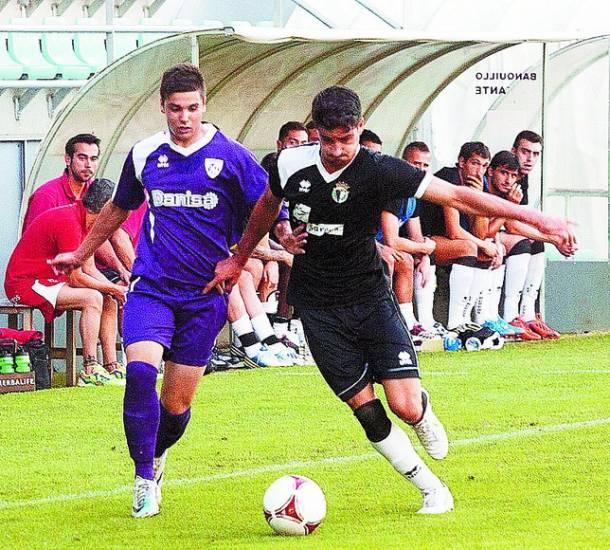 El Burgos CF vence por la mínima en Palencia
