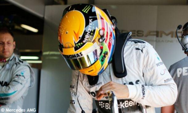 Monza - EL1 : Hamilton emmène la meute