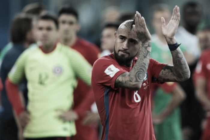Vidal anuncia aposentadoria da Seleção Chilena após a Copa de 2018