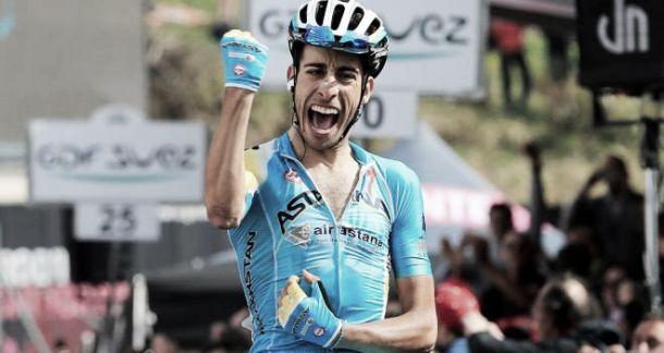 Vuelta 2014 - Victoire d'étape pour Fabio Aru, Froome reprend du temps au général
