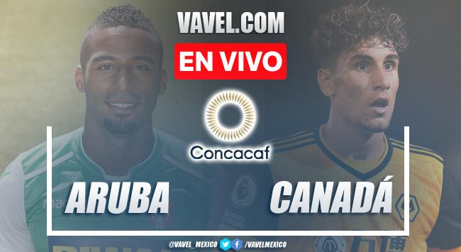 Goles y Resumen del Aruba 0-7 Canadá en Eliminatorias CONCACAF 2022
