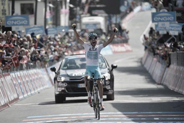 Giro d'Italia: a Cervinia, Aru di carattere. Contador controlla Landa