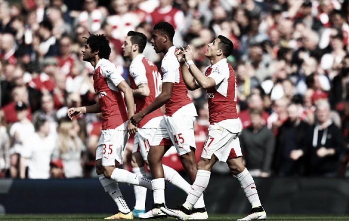 Arsenal 4-0 Watford: Gunners blitz Hornets in comfortable home display